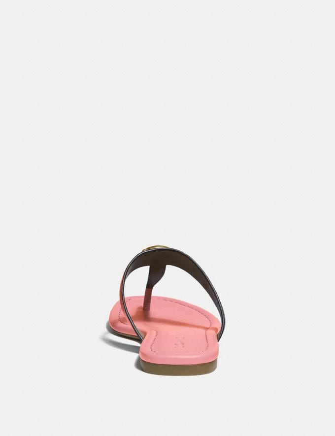 Coach Jessie Sandal Lt Blush  Alternate View 3