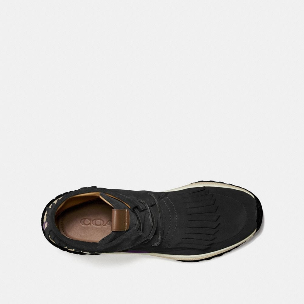 Coach C243 Moccasin Sneaker With Coach Patch Alternate View 2