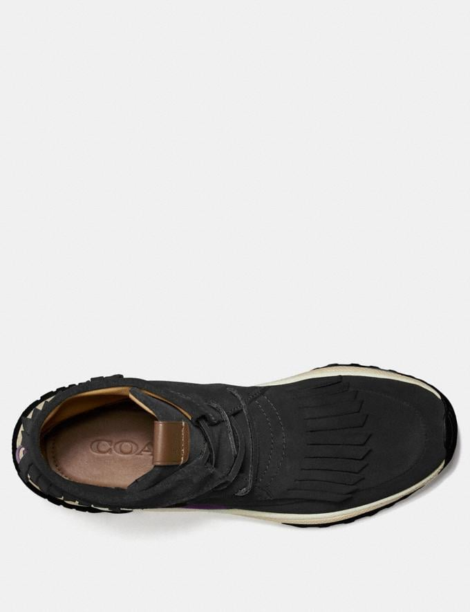 Coach C243 Moccasin Sneaker With Coach Patch Tan  Alternate View 2