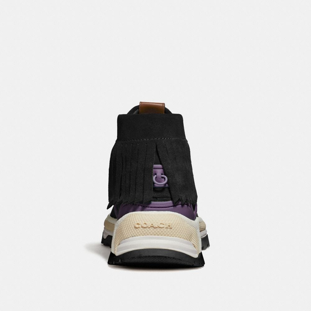Coach C243 Moccasin Sneaker With Coach Patch Alternate View 3
