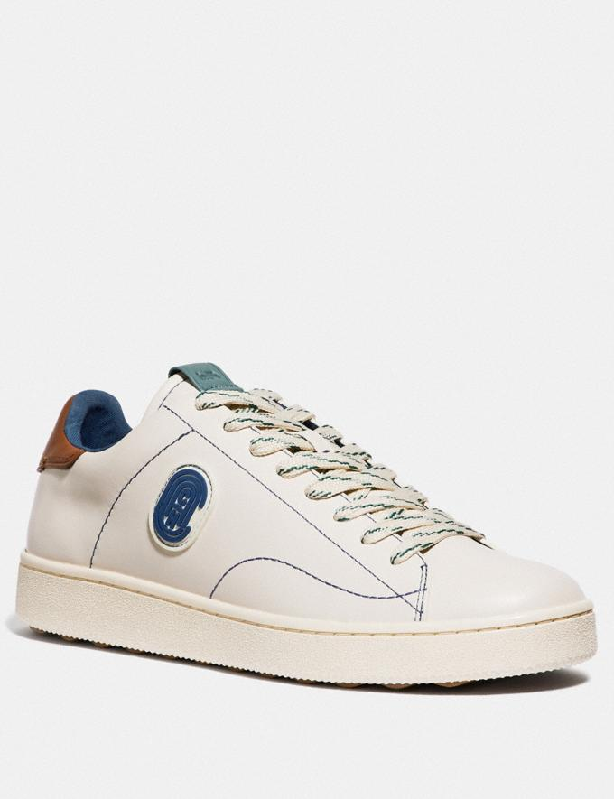 Coach C101 With Coach Patch White Men Shoes Sneakers