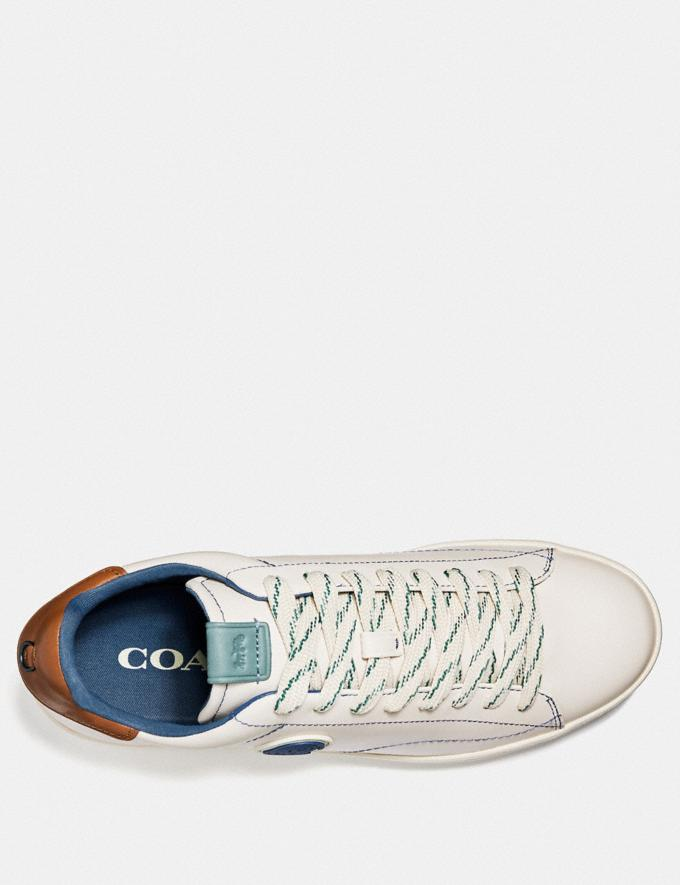 Coach C101 With Coach Patch White Men Shoes Sneakers Alternate View 2