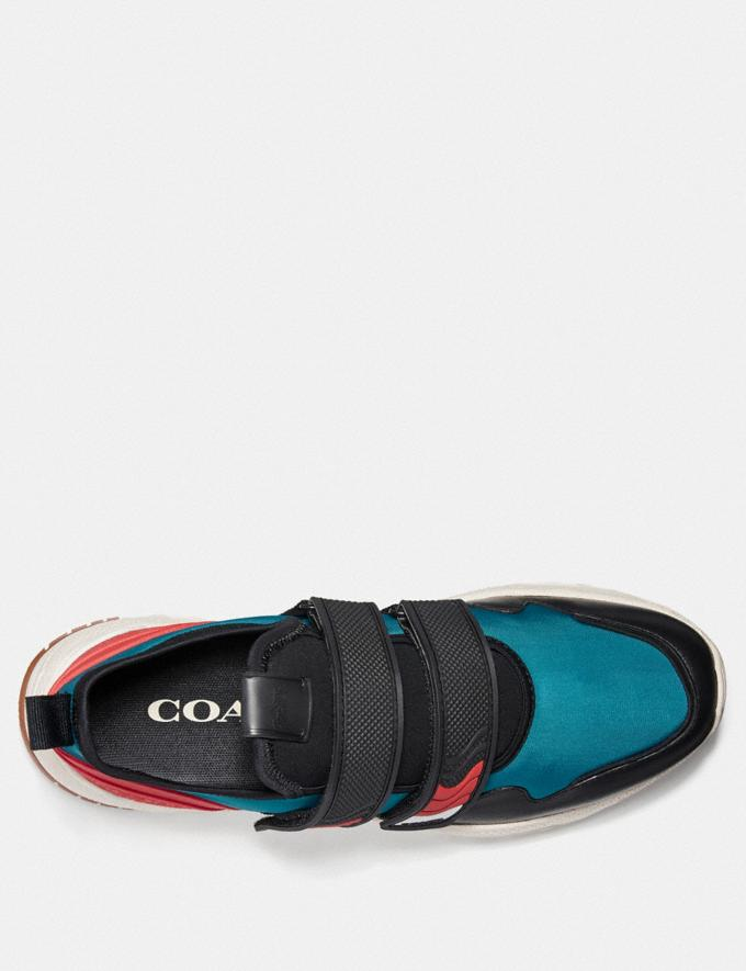 Coach C143 Two Strap Runner Multi Men Shoes Trainers Alternate View 2
