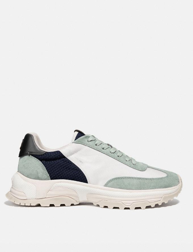Coach C155 Paneled Runner Multi Men Shoes Trainers Alternate View 1