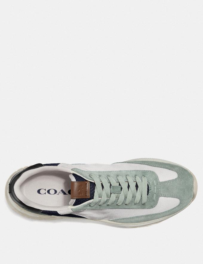 Coach C155 Paneled Runner Grey  Alternate View 2