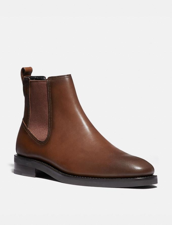 Coach Chelsea Boot Burnished Saddle New Men's New Arrivals Shoes