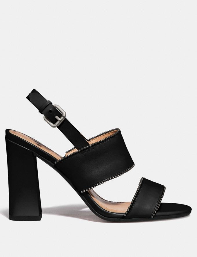 Coach Rylie Sandal Black  Alternate View 1