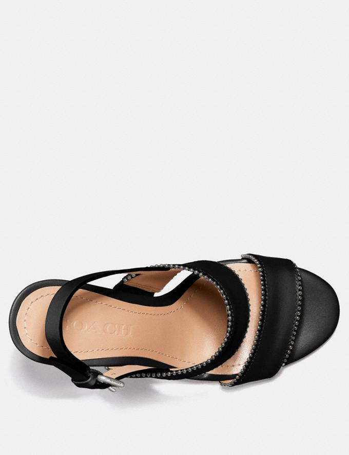 Coach Rylie Sandal Black  Alternate View 2