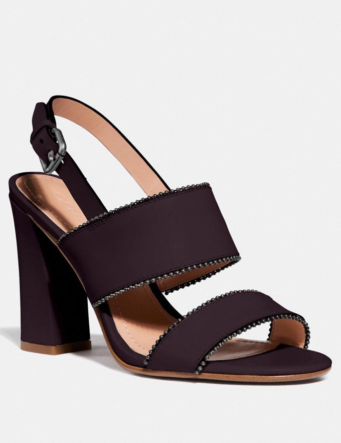 Coach Rylie Sandal Oxblood SALE Women's Sale Shoes