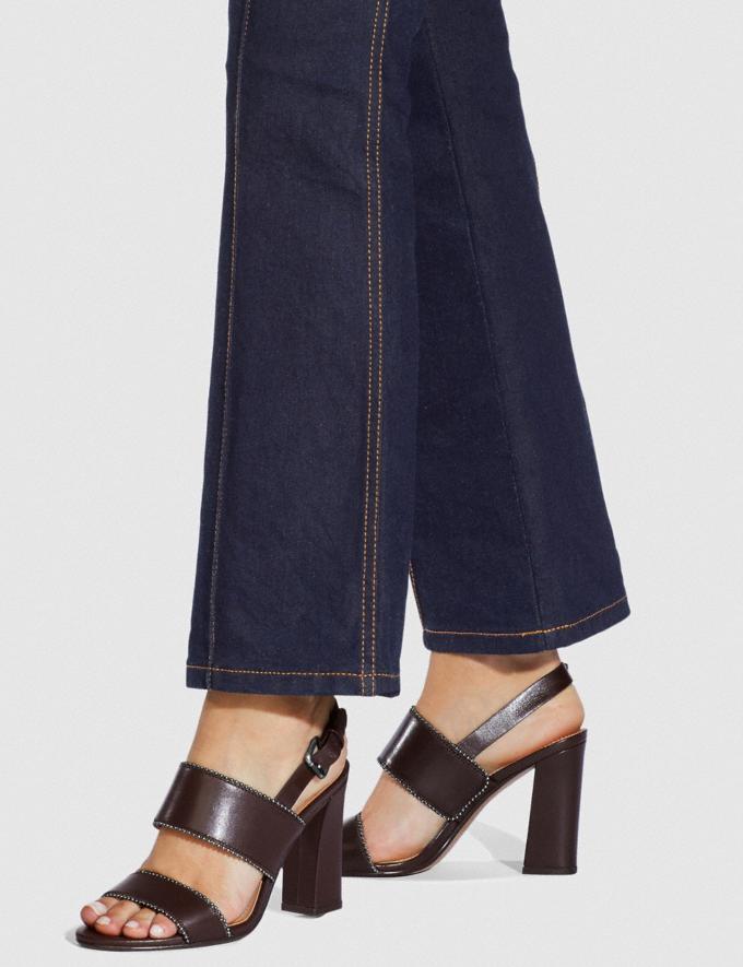Coach Rylie Sandal Oxblood SALE Women's Sale Shoes Alternate View 4