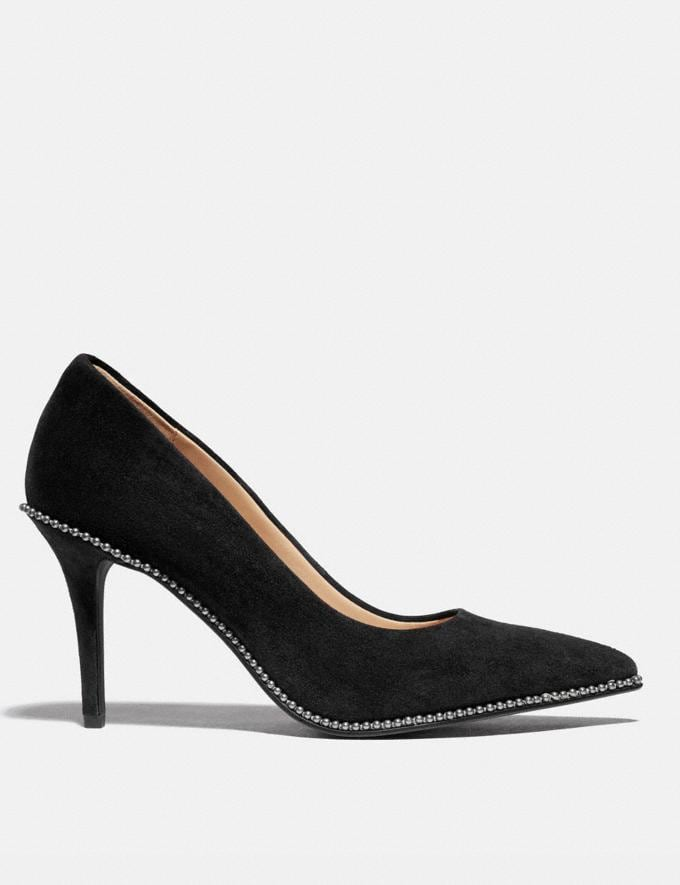 Coach Waverly Pump Black Women Shoes Alternate View 1