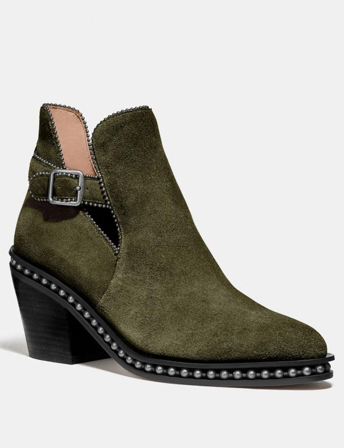 Coach Pipa Bootie Juniper New Women's New Arrivals Shoes
