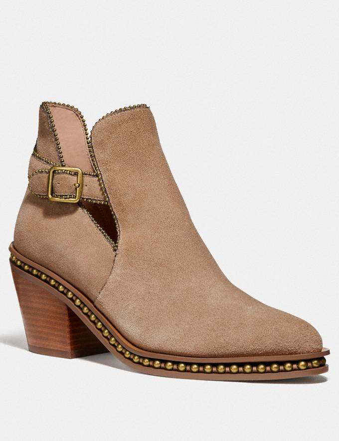 Coach Pipa Bootie Oat Women Shoes Boots