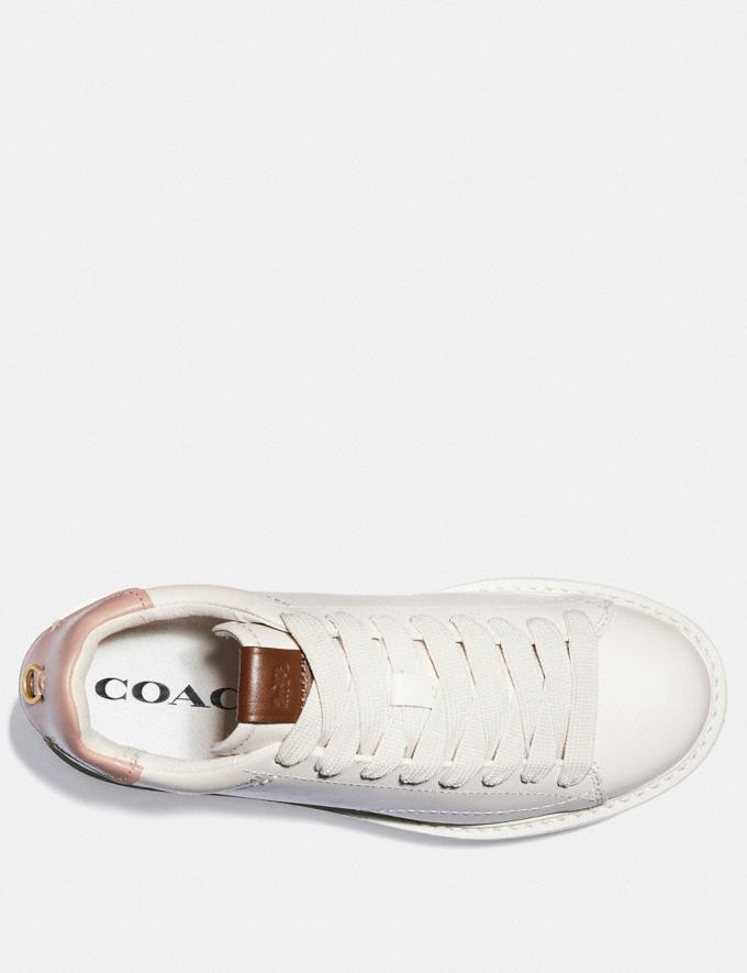 Coach C101 Platform Sneaker Chalk/Pale Blush Nouveautés Tendances pour hommes Denim Autres affichages 2