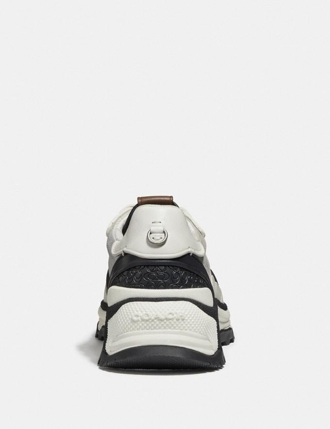 Coach C143 Runner White/Silver  Alternate View 3