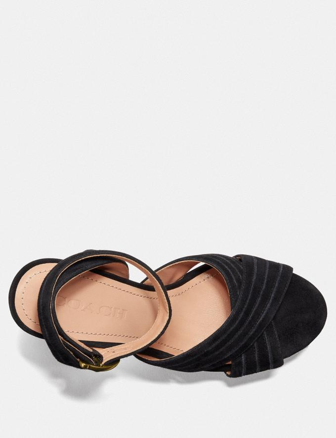 Coach Denna Sandal Black  Alternate View 2