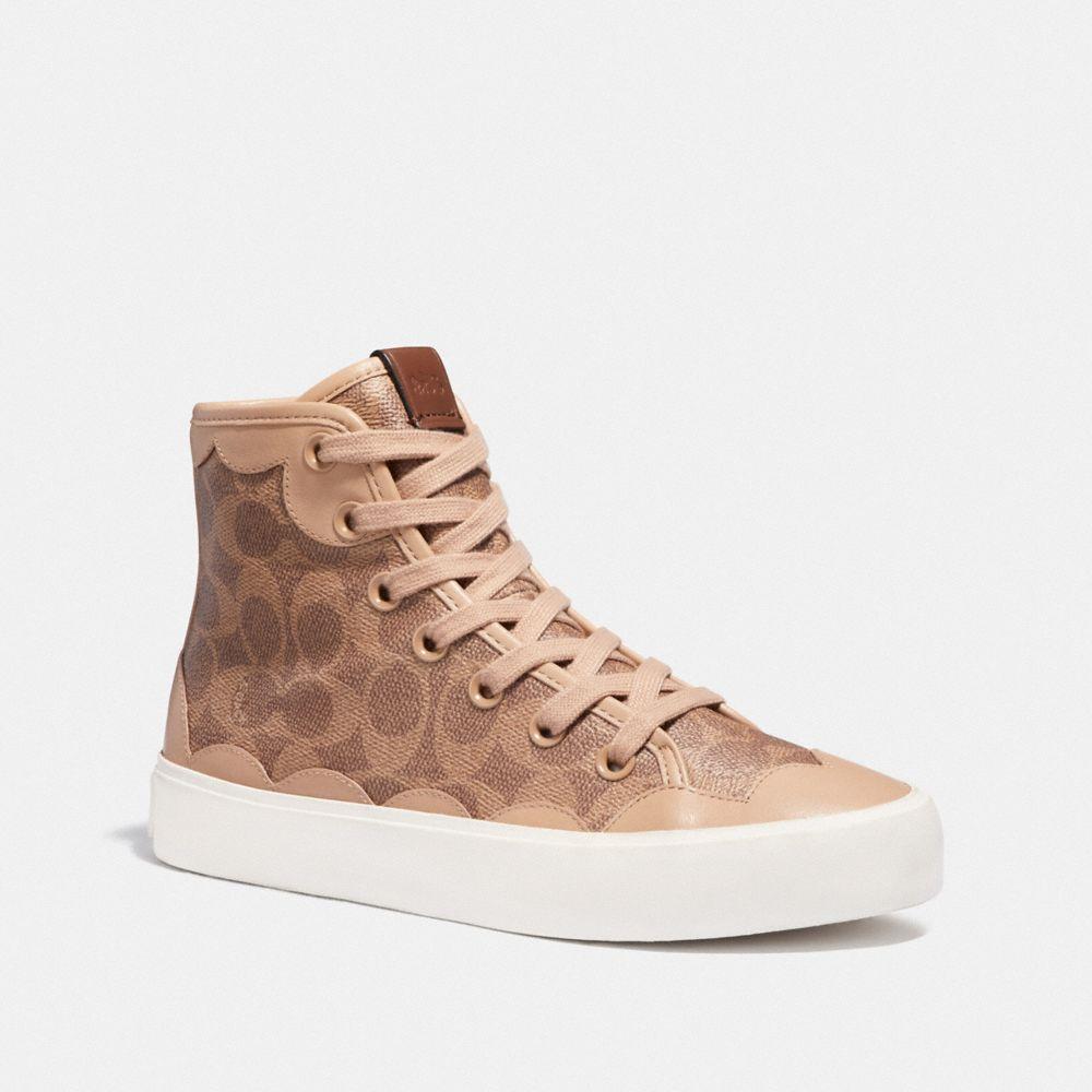 c255 high top sneaker