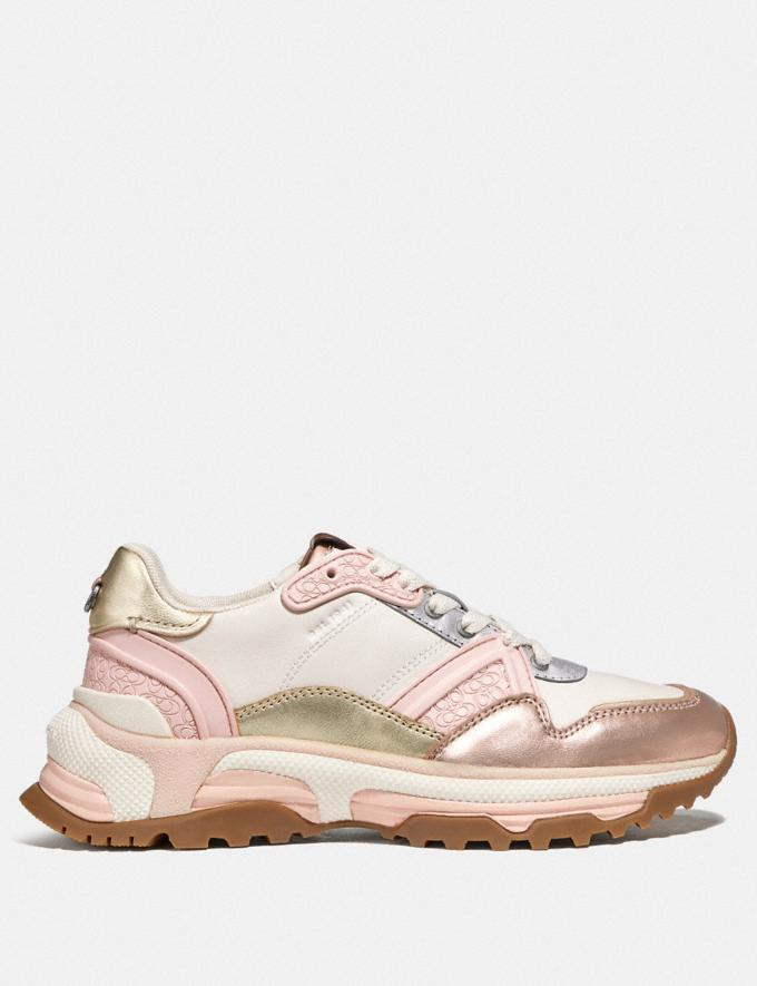 Coach C143 Runner Rose Gold/Chalk  Autres affichages 1