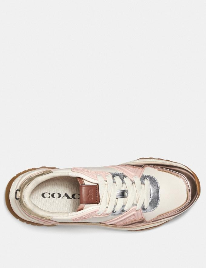 Coach C143 Runner Rose Gold/Chalk  Autres affichages 2