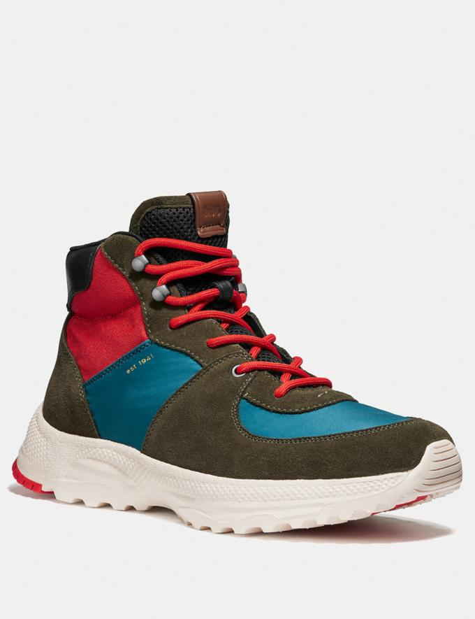 Coach C250 Hiker Boot Multi Men Shoes Boots