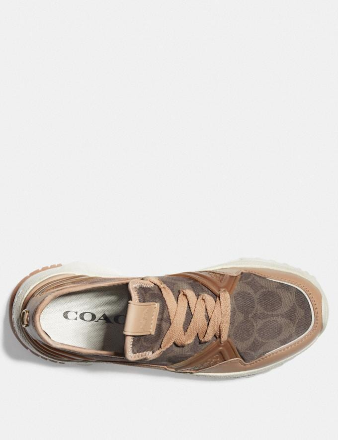 Coach C150 Runner Beechwood/Tan SALE For Her Shoes Alternate View 2