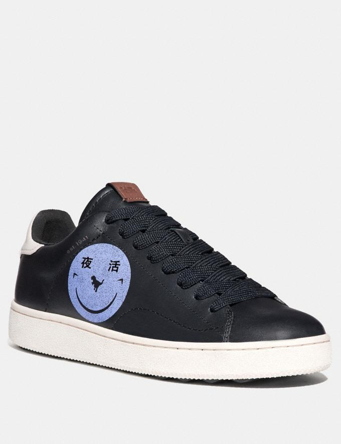 Coach C101 With Rexy by Yeti Out Black/Chalk New Men's New Arrivals Shoes