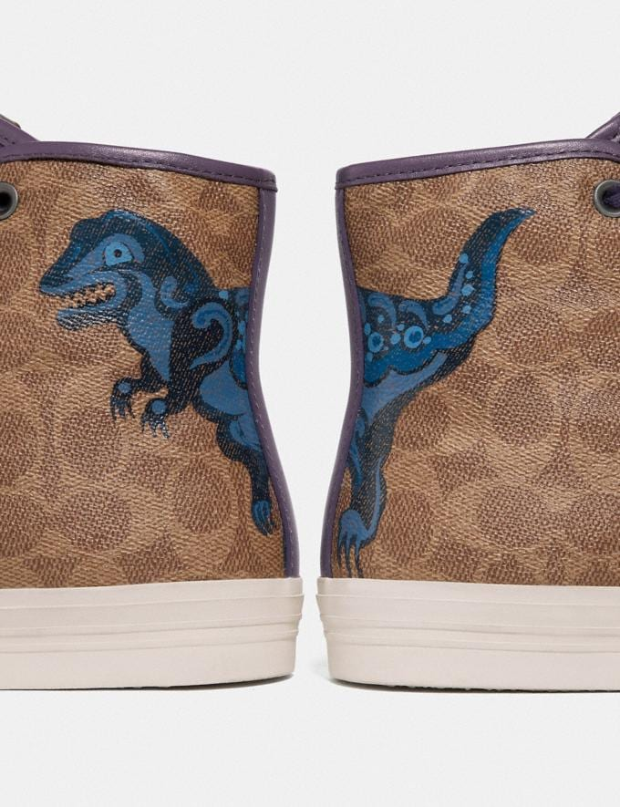 Coach C211 With Rexy by Zhu Jingyi Tan/Ink New Men's Trends Rexy Remix Alternate View 3