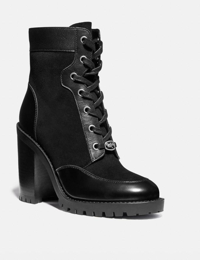 Coach Hedy Bootie Black SALE Private Event Women's