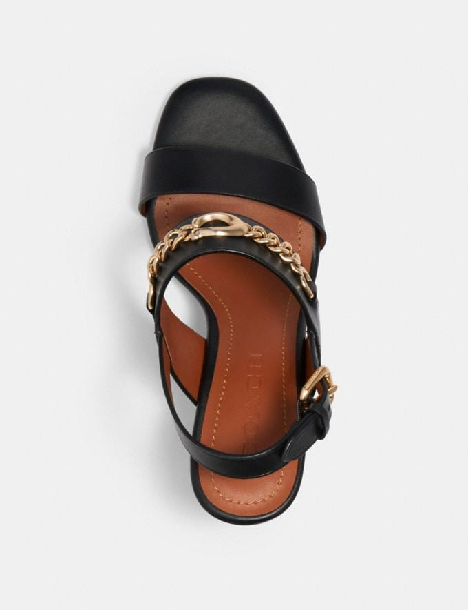 Coach Mari Sandal Black  Alternate View 2