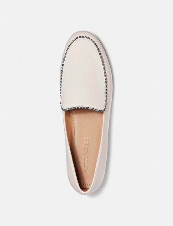 Coach Harper Loafer Black Women Shoes Flats Alternate View 2