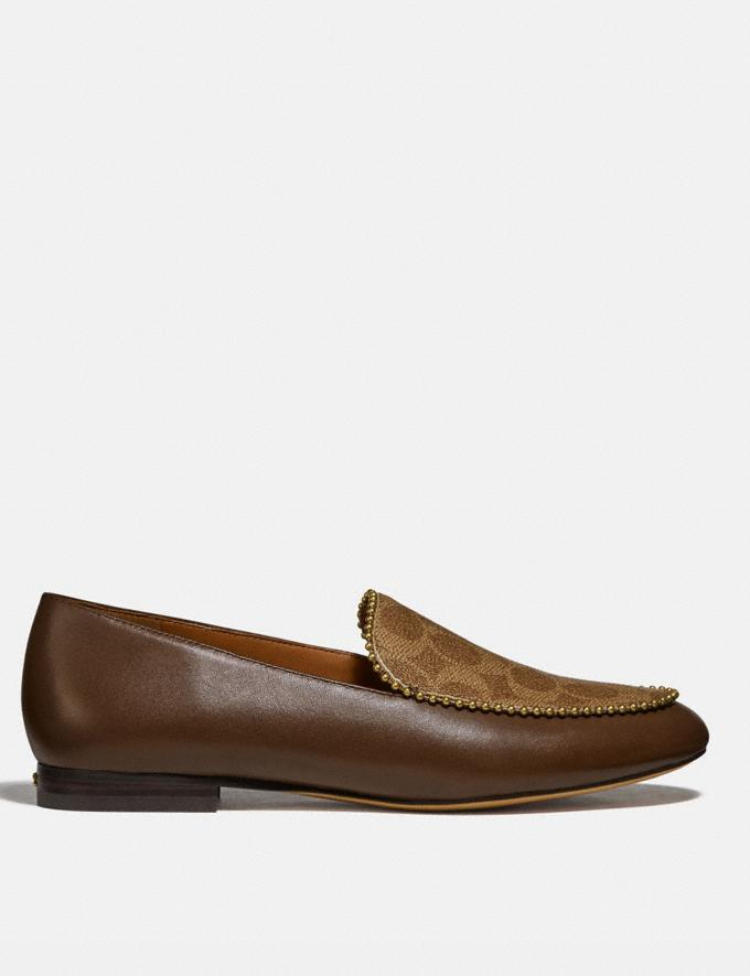 Coach Harper Loafer Dark Saddle/Tan Gifts For Her Under $500 Alternate View 1