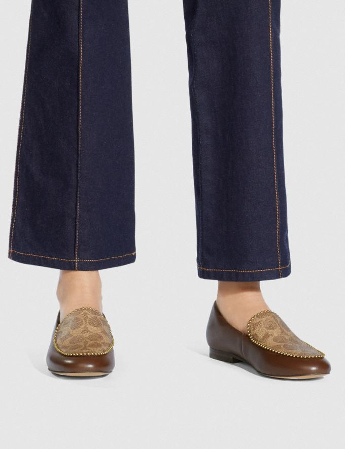 Coach Harper Loafer Dark Saddle/Tan Gifts For Her Under $500 Alternate View 4