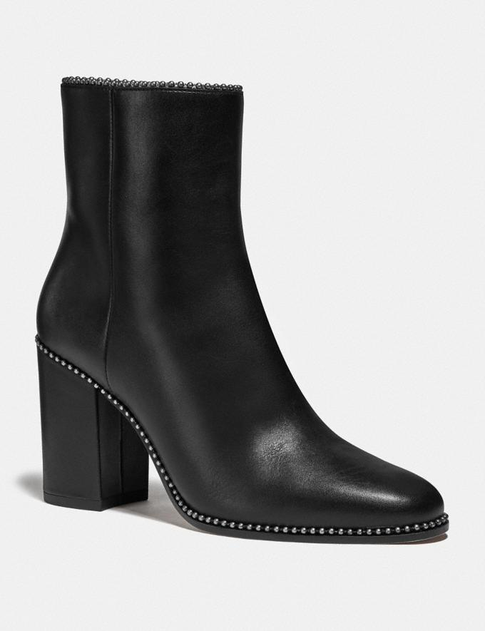 Coach Drea Bootie Black Women Shoes Boots