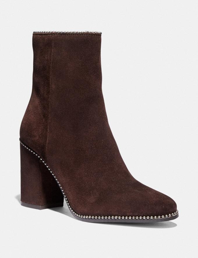 Coach Drea Bootie Mahogany New Women's New Arrivals Shoes