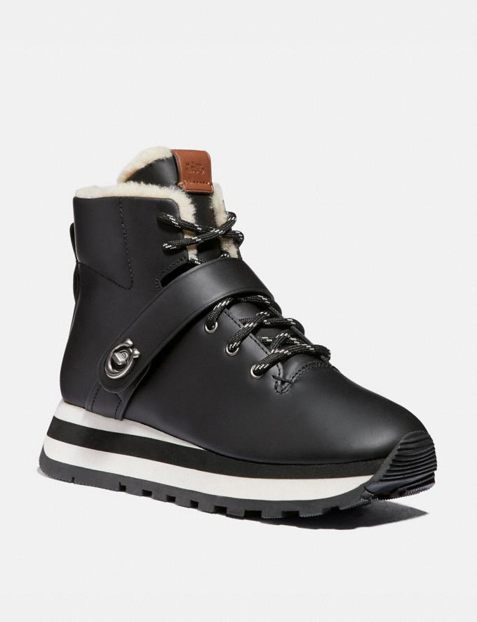 Coach Urban Hiker Black New Women's New Arrivals Shoes