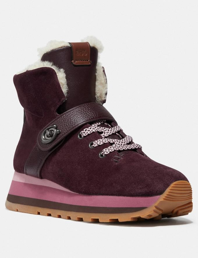 Coach Urban Hiker Oxblood