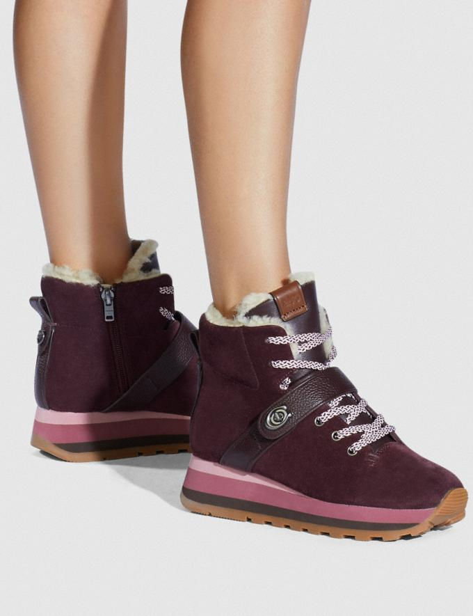 Coach Urban Hiker Oxblood  Alternate View 4