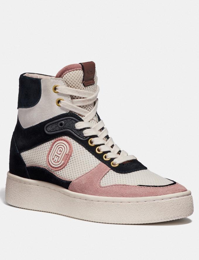 Coach C220 Hightop-Sneaker Multi Damen Schuhe Sneaker