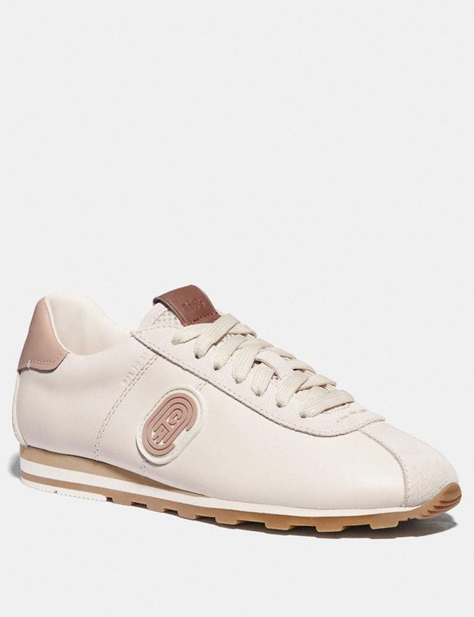 Coach C170 Retro Runner With Coach Patch Chalk/Pale Blush