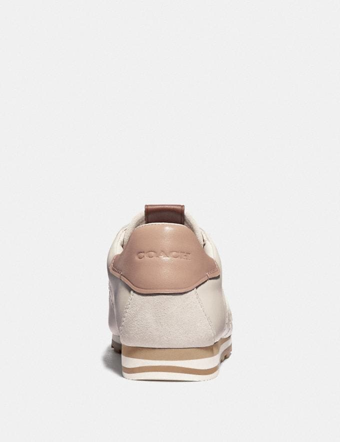 Coach C170 Retro Runner With Coach Patch Chalk/Pale Blush  Alternate View 3