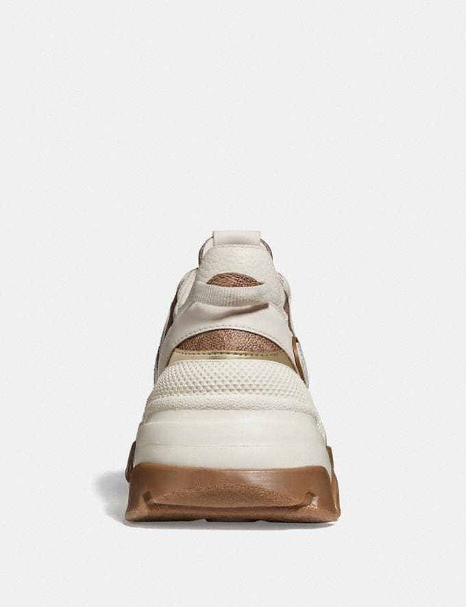 Coach C165 Runner Tan/Chalk  Alternate View 3