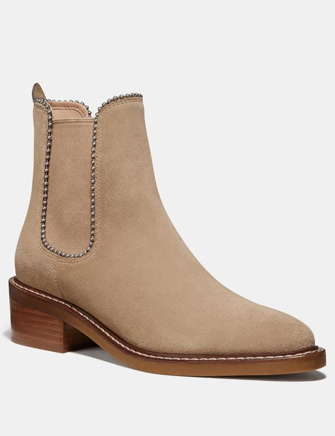 Coach Bowery Bootie Oat New Women's New Arrivals Shoes