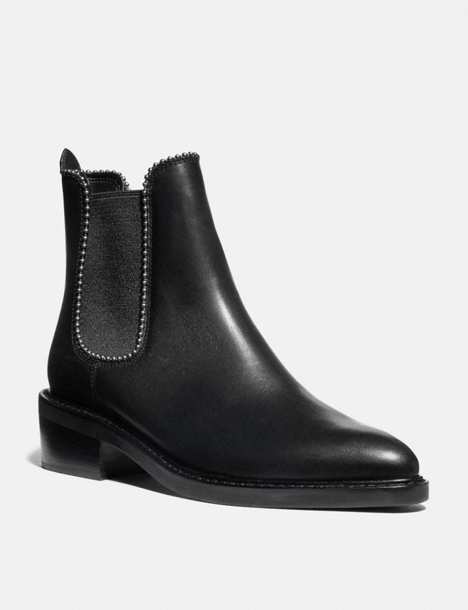 Coach Bowery Bootie Black Women Shoes Boots