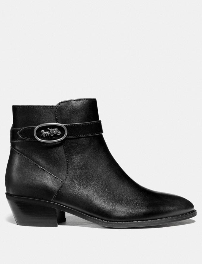Coach Dylan Bootie Black  Alternate View 1