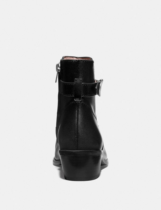 Coach Dylan Bootie Black  Alternate View 3