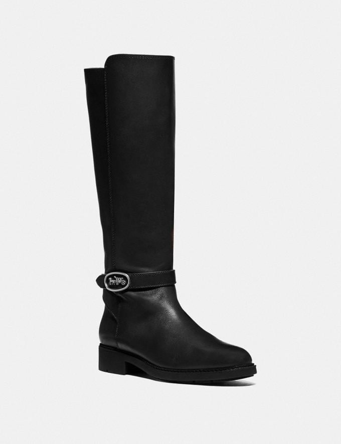 Coach Ruby Boot Black Women Edits Cold Weather Edit