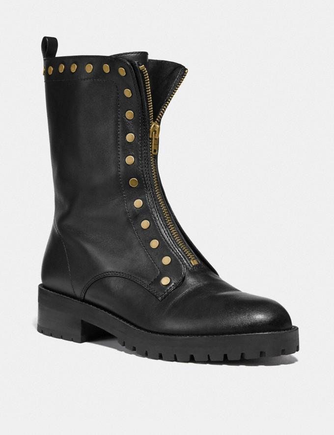 Coach Laura Combat Bootie Black Gifts For Her Bestsellers