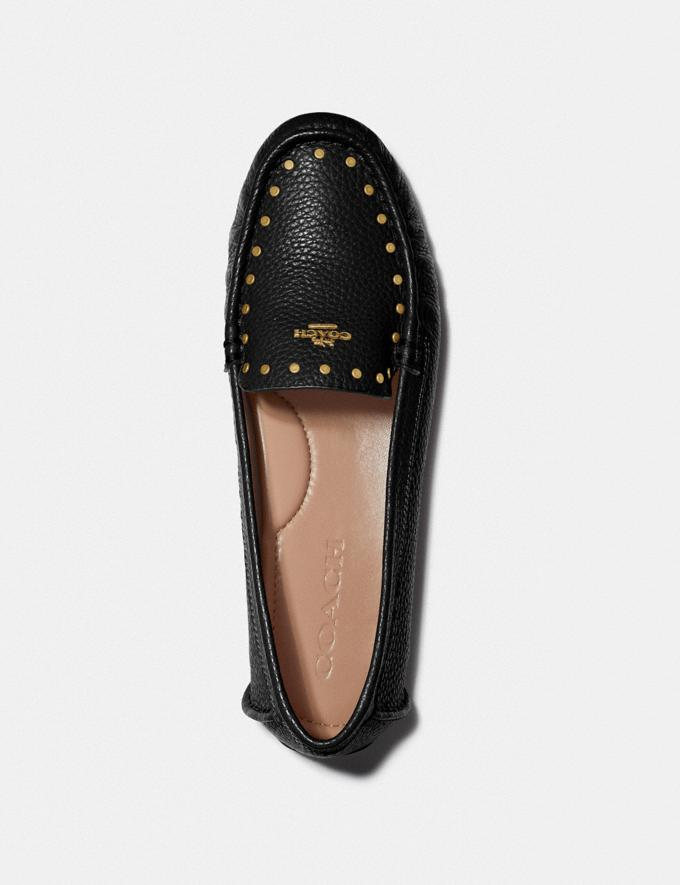 Coach Mckenna Driver Black Women Shoes Flats Alternate View 2