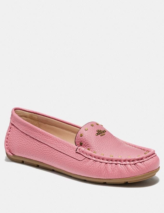 Coach Mckenna Driver True Pink Women Shoes Flats