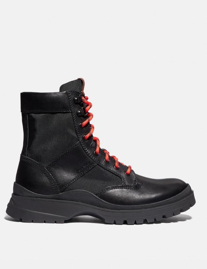 Coach Utility Boot Black SALEDDD Men's Sale Alternate View 1